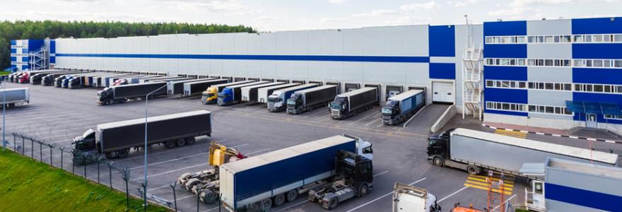 Plateforme logistique pour une entreprise