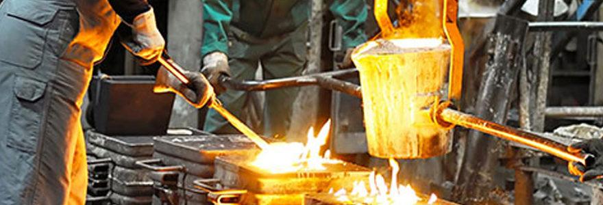 air comprimé dans les usines métallurgiques
